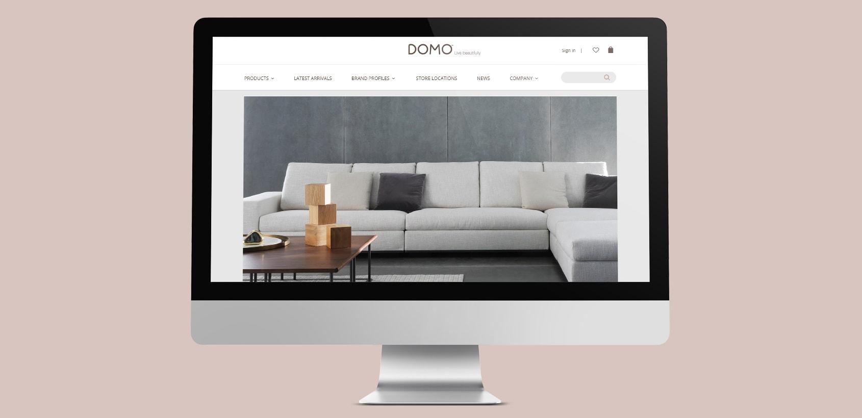 Domo Furniture Website
